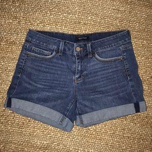 WHBM Denim Shorts